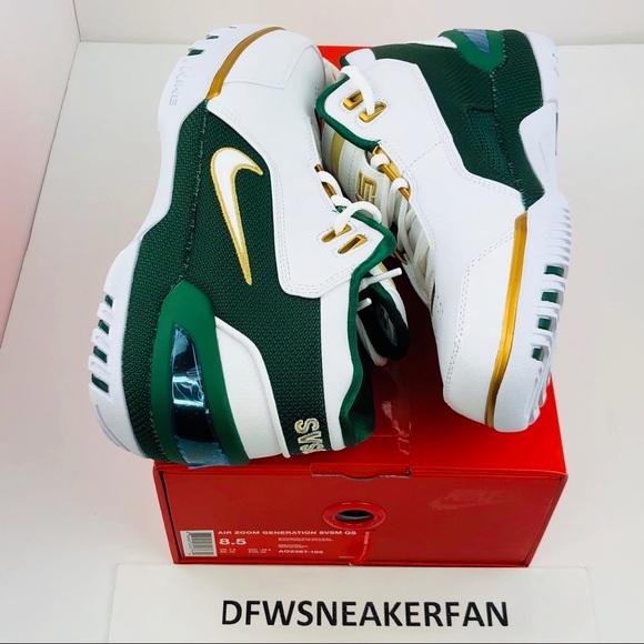 a07a5dd0cc18f Nike Air Zoom Generation QS SVSM Lebron Size 8.5